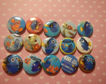 15 Finding Inspired  Craft Flat Back Embellishment Buttons