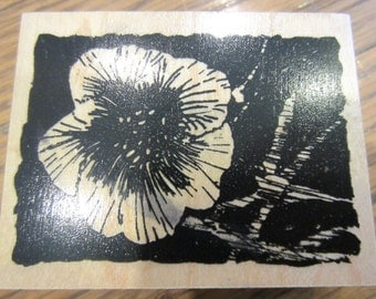 Club Scrap Limited Edition 2005 Wooden Rubber Stamp