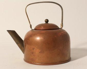 Vintage Copper Tea Kettle by Coppercraft Guild