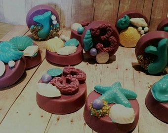 Mermaid under the sea theme chocolate covered oreos in your choice of color and your choice of number