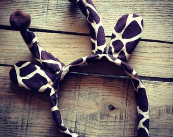 Giraffe ear headband Great for Halloween