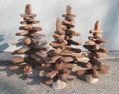 Driftwood Bark Christmas Tree