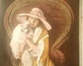 Reserved! 1919 Minerva Knitting Book. Vintage Patterns. Women Men Children