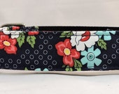 Dog  Collar - Dog, Martingale or Cat Collar - All Sizes - Daysail Blooms