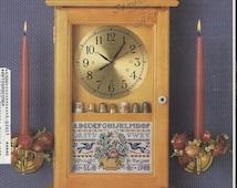 80s Cross Stitch & Country Crafts Magazine Jan Feb 1988 OOP Counted Cross Stitch Sampler Clock Vintage Cross Stitch
