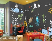Underwater Playroom Wall Decals - Kids & Nursery Wall Decor