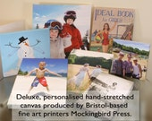 Deluxe Bespoke GALLERY QUALITY Stretched CANVAS Printing service