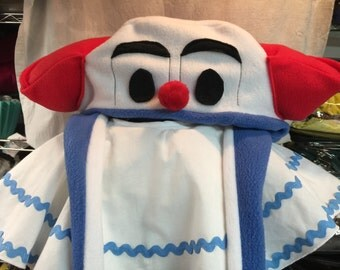 Bozo the Clown Hat, Wig and Costume