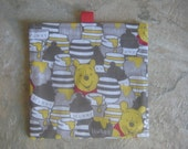 TRY ME SALE - One Bag for 1.99 - Reusable Sandwich Bag or Snack Bag with easy open tabs-Winnie the Pooh
