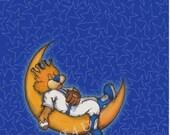 Baby Slugger on the Moon