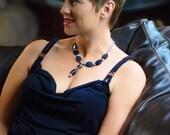 Dumortierite Necklace - Deep Blue - Classy - Elegant - 20 inch
