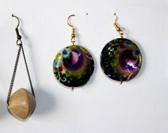 Trio of cool earrings
