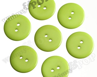 Green Buttons Etsy