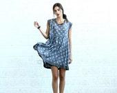 Final Summer Sale Summer Sale Polka Dot dress, Gray