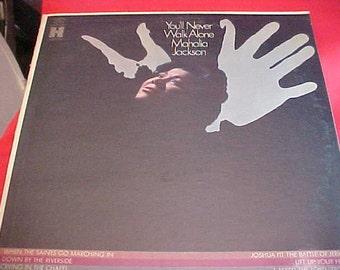 Mahalia Jackson You'll Never Walk Alone LP dg vinyl HS 11279 vintage vinyl record Gospel 60s NM