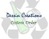 CUSTOM - Bottle Bracelets - Dessin Creations