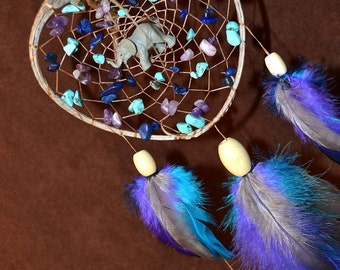 Elephant Dream Catcher-Removing Obsticles - Devils Claw Dream Catcher- Made to Order