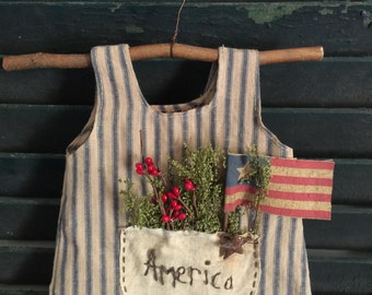 Americana Dress Ornament