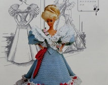 20%OFF Annie's Attic The Gibson Girl Collection of the Gay Nineties MISS FEBRUARY 1994 Calendar Bed Doll Society Fashion Doll Crochet Patter