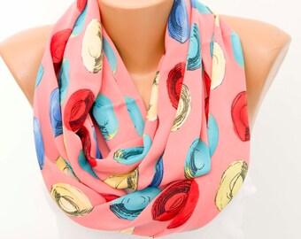 SALE SILK scarf  -Infinity scarf,Loop scarf, scarf , necklace scarf, neckwarmer,