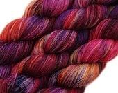 hand dyed yarn FREAK CIRCUS pick your base - sw merino bfl silk nylon stellina fingering dk