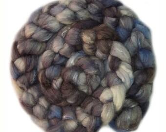 spinning fiber 70/30 bfl firestar nylon hand dyed 125g 4.4oz (#31)