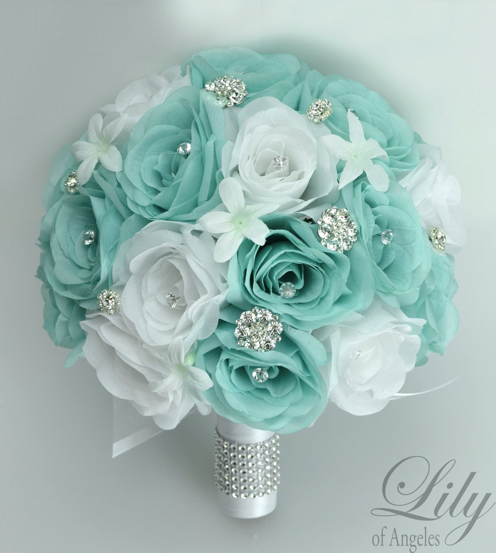 wedding bouquet packages bridal bouquet wedding 17 package silk flowers bouquets 8472