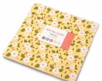 Little Miss Sunshine layer cake by Lella Boutique for moda fabrics