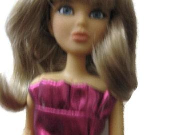 Doll Wig Blonde Size 6-7