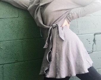 Surya Leela Bodlhilicious Hemp Wrap Sweater Jacket