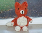 Friendly Fox - Adorable Amigurumi Fox Doll