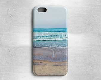 iPhone 6S Case Ocean Beach Cell Phone Cover for iPhone 6S Plus, iPhone 6, iPhone 5, iPhone 5S, iPhone 5C, iPhone 4S, and iPhone 4
