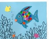 RAINBOW FISH Craft Kit