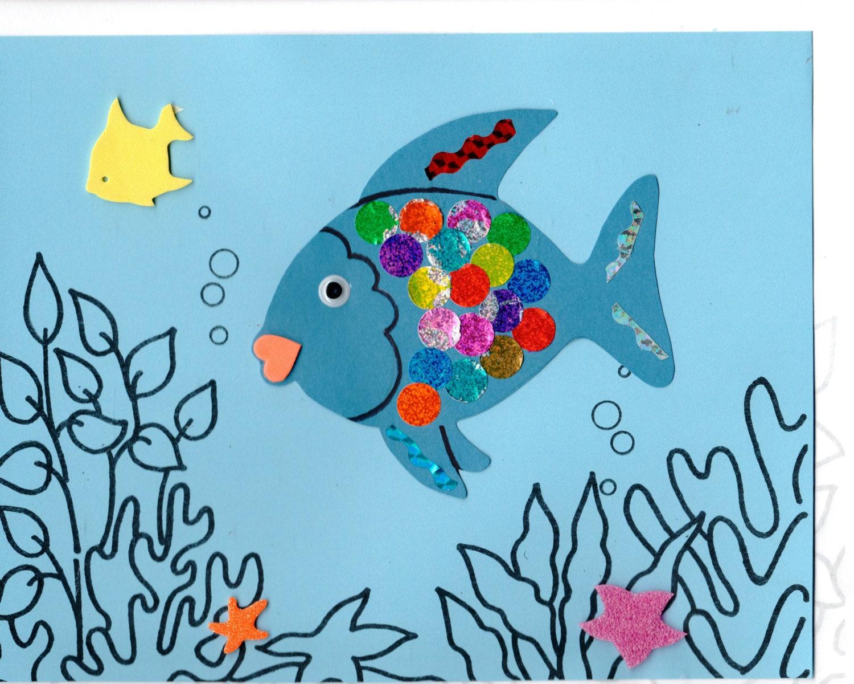 Rainbow fish craft kit for Rainbow fish craft