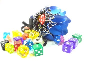 Dungeons & Dragons Blue Dice Bag Scalemaille And Chainmaille Aluminum - SDB-S-B