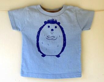 Hedgehog Kids Tshirt Childrens Shirt Graphic Tee