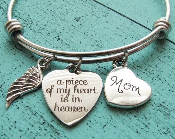 sympathy gift mom memorial jewelry mother loss of mother
