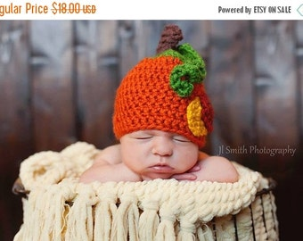 sale NB pumpkin hat