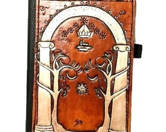 Lord of the Rings Case - Speak Friend - Lotr - Lord of the Rings Gift - Ipad - Ipad Mini - Kindle Fire - Samsung Tablet - Geek Gift