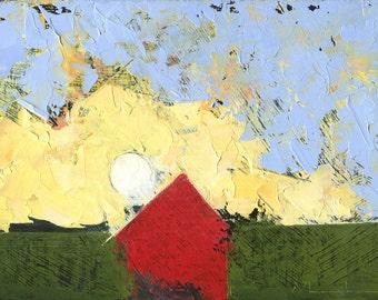 Landscape Art by John Shanabrook - 5 x 7 - Be Sudden
