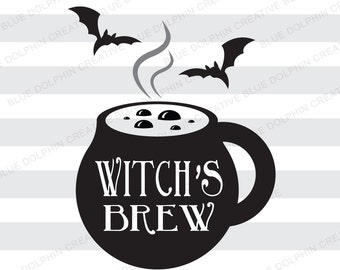 Halloween Mug Decal Etsy