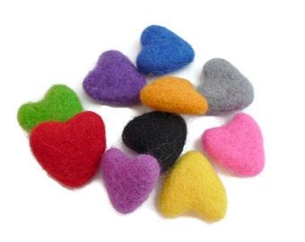 Wool felt stars handmade felt shapes bead arts and crafts 100 for Felt arts and crafts