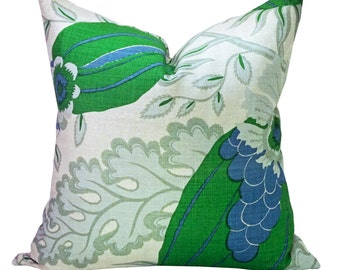 Carnival pillow cover in Green