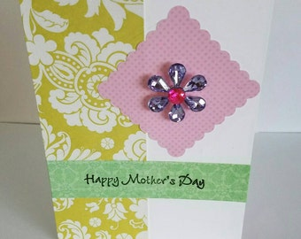Box Set of Four Greeting cards, mother's day, birthday, hello or just because, new baby boy