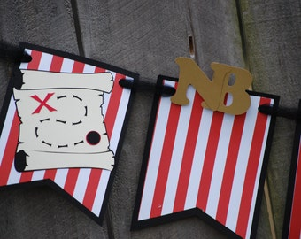 Pirate 1st Birthday Photo Banner, Pirate Party, Pirate 1st Birthday, Pirate Shower