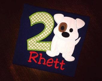 Custom Dog Birthday Shirt