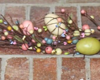 Easter Garland - Spring Garland - Easter Egg Garland - Easter Decoration