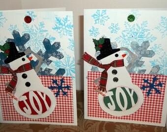 Snowman 2015 Christmas Card