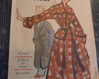 antic french fashion magazine