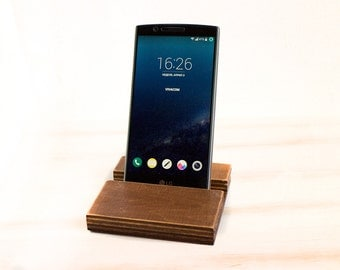 iPhone 6 5 Wood Wooden docking Station Samsung Galaxy Tab LG G5 4 3 Motorola G2 Stand iPhone stand Wooden Stand BlackBerry iPad Lenovo HTC